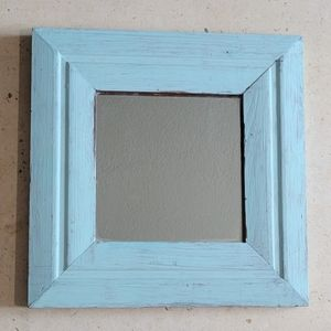 Square Thick Framed Decorative Mirror